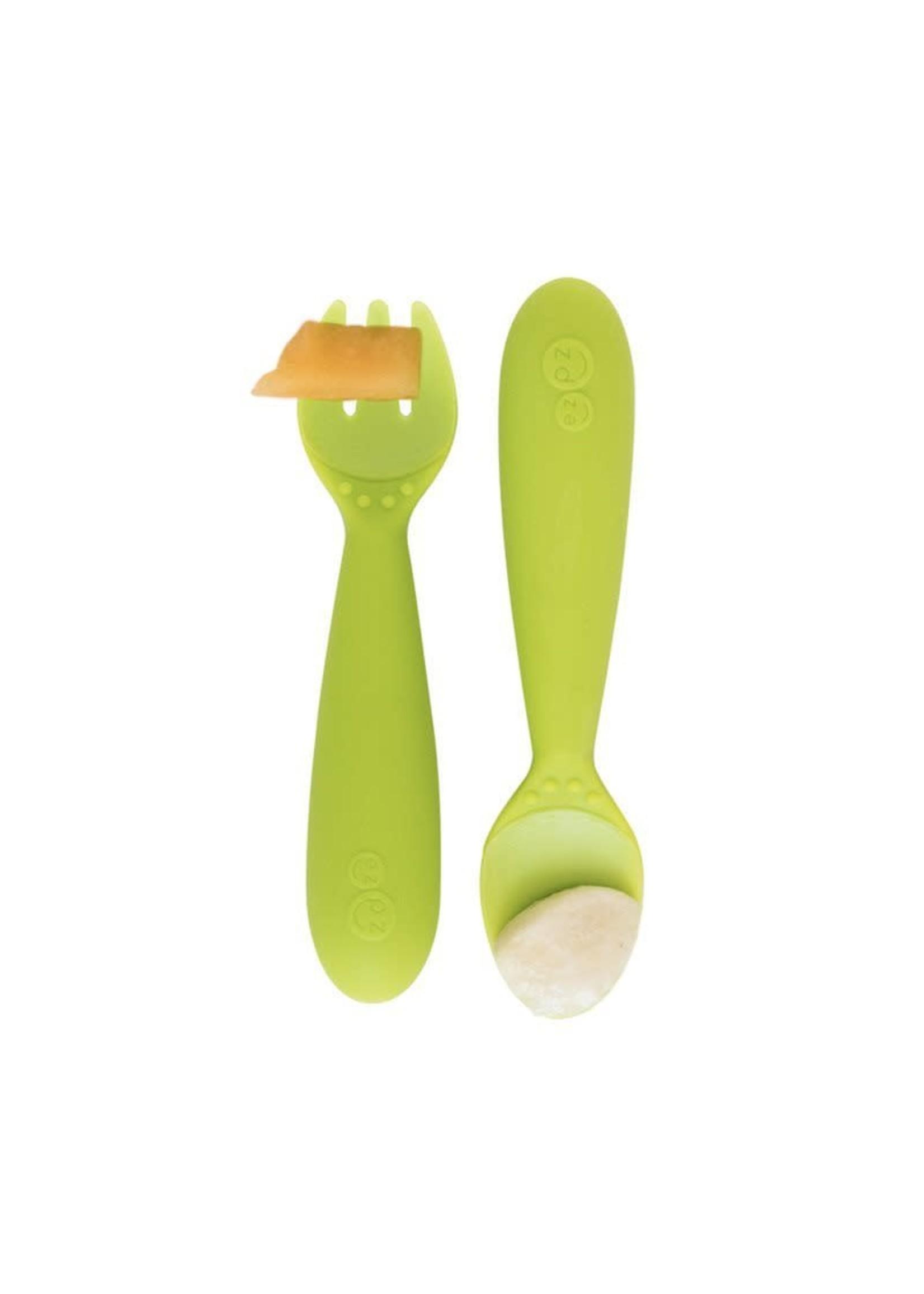 EZPZ ezpz Mini Utensils (Lime)