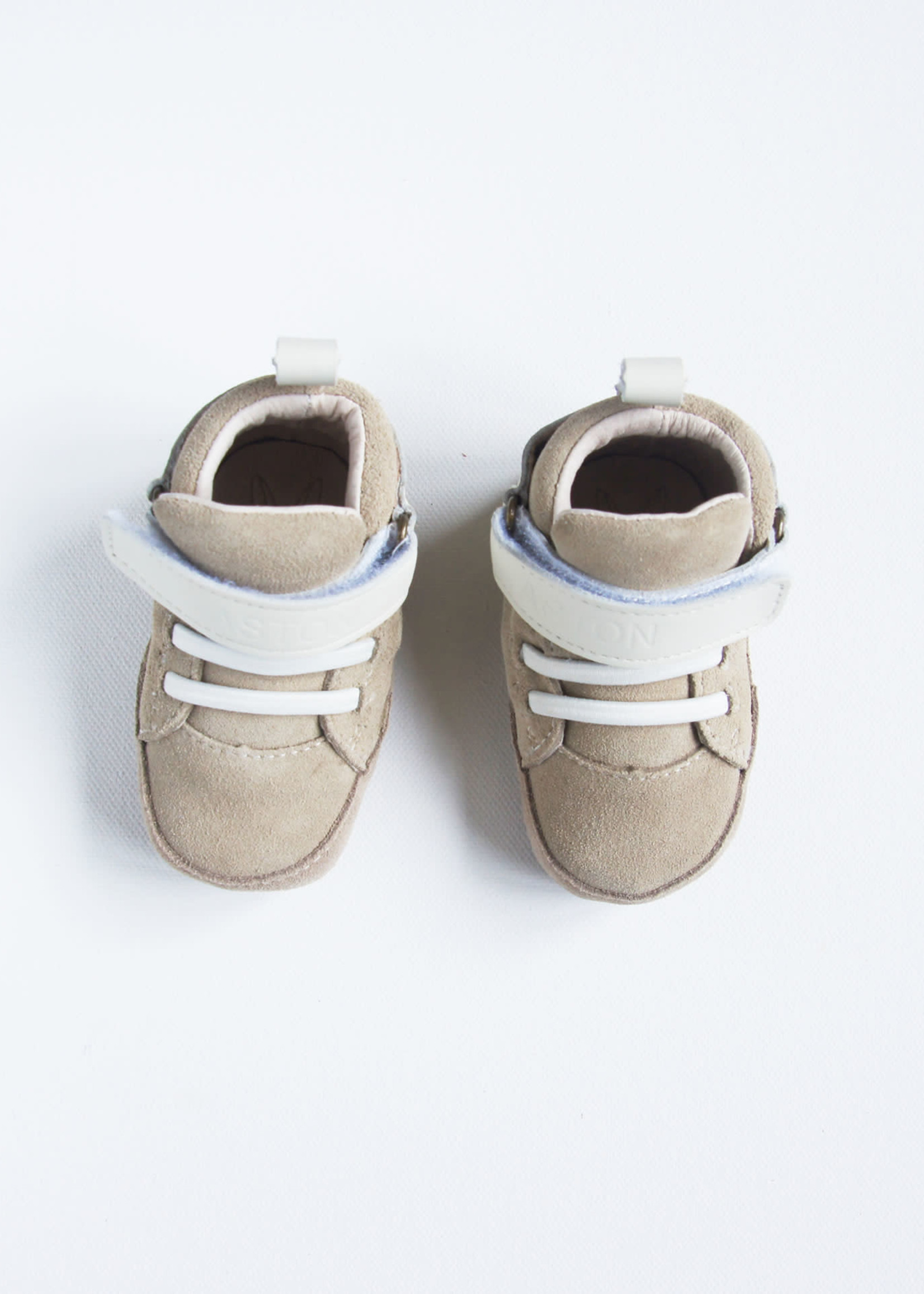 Aston Baby AB Lonsdale Shoe (Sand White)