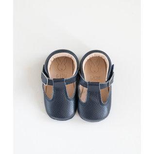 Aston Baby AB Shaughnessy Shoe (Navy)