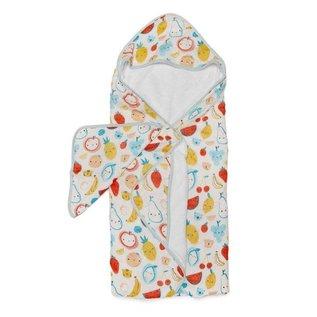 Loulou Lollipop LLP Hooded Towel Set (Cutie Fruits)