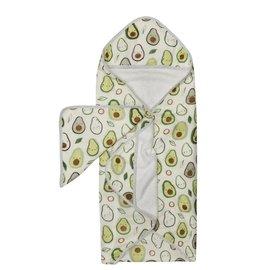 Loulou Lollipop Loulou Lollipop Hooded Towel Set (Avocado)