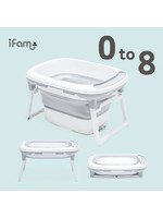 ifam iFam Deluxe Folding Bathtub With Stand (0-8yr)