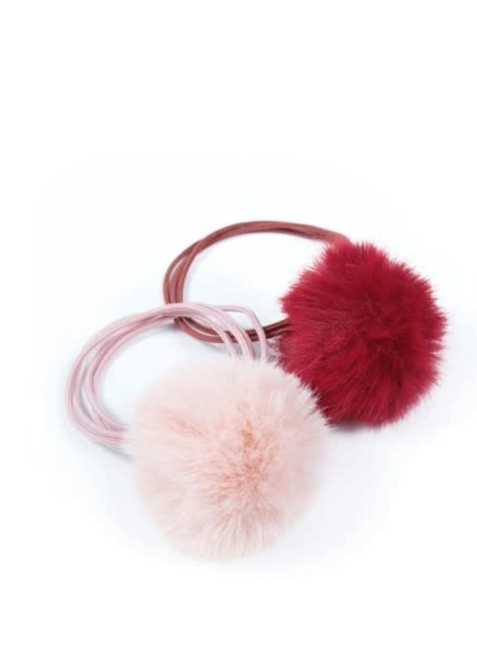 Lox Lion LL Pom Elastic (Cranberry/Pink)