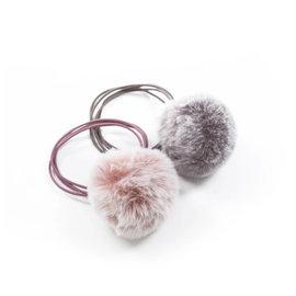 Lox Lion Lox Lion Pom Elastic (Pink/Purple Wash)
