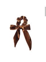 Lox Lion Lox Lion Velour Scrunchie (Bronze)