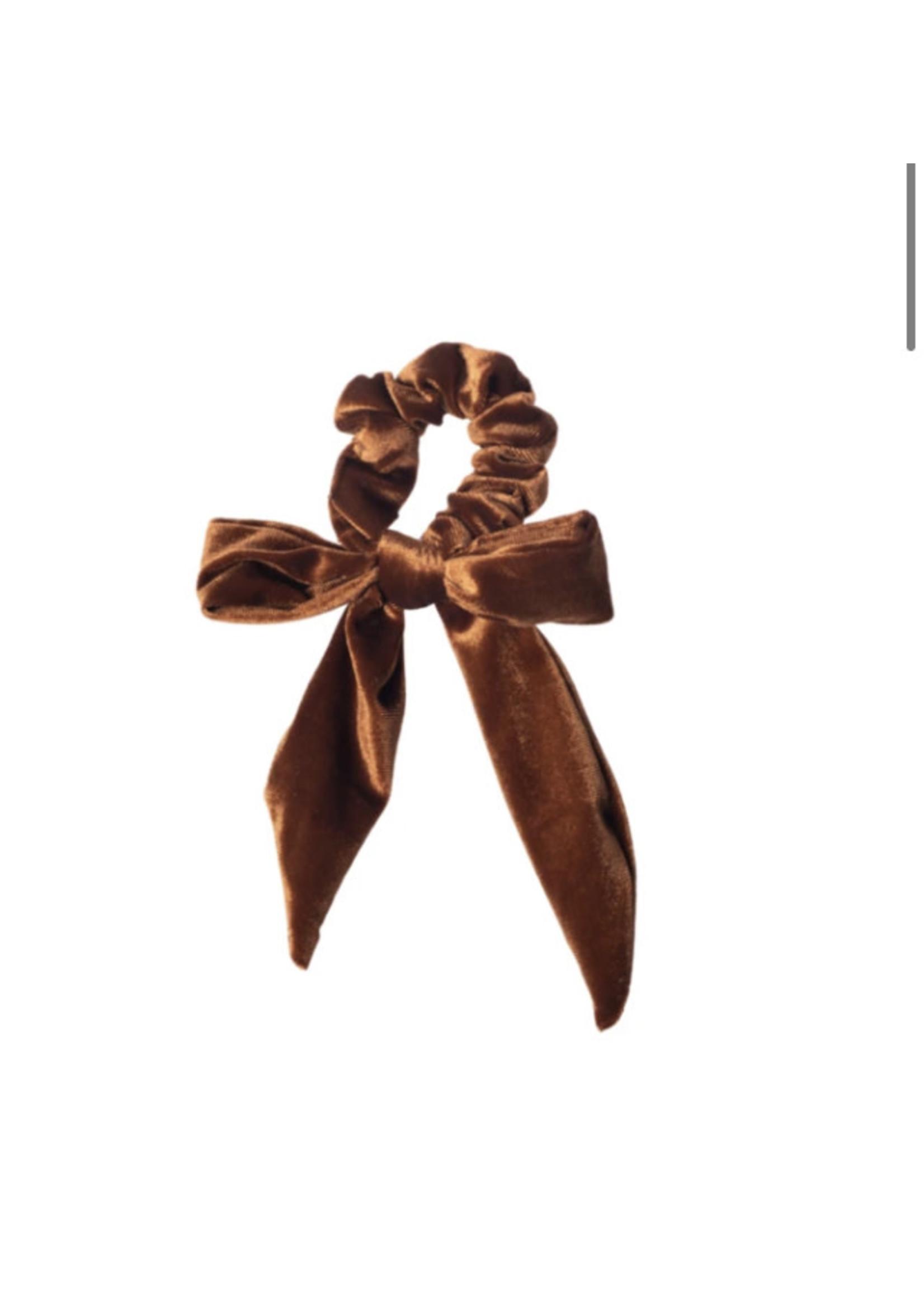 Lox Lion LL Velour Scrunchie (Bronze)