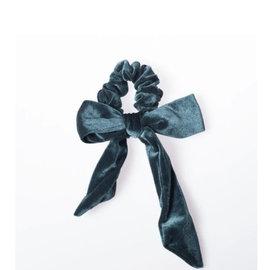 Lox Lion Lox Lion Velour Scrunchie (Turquoise)