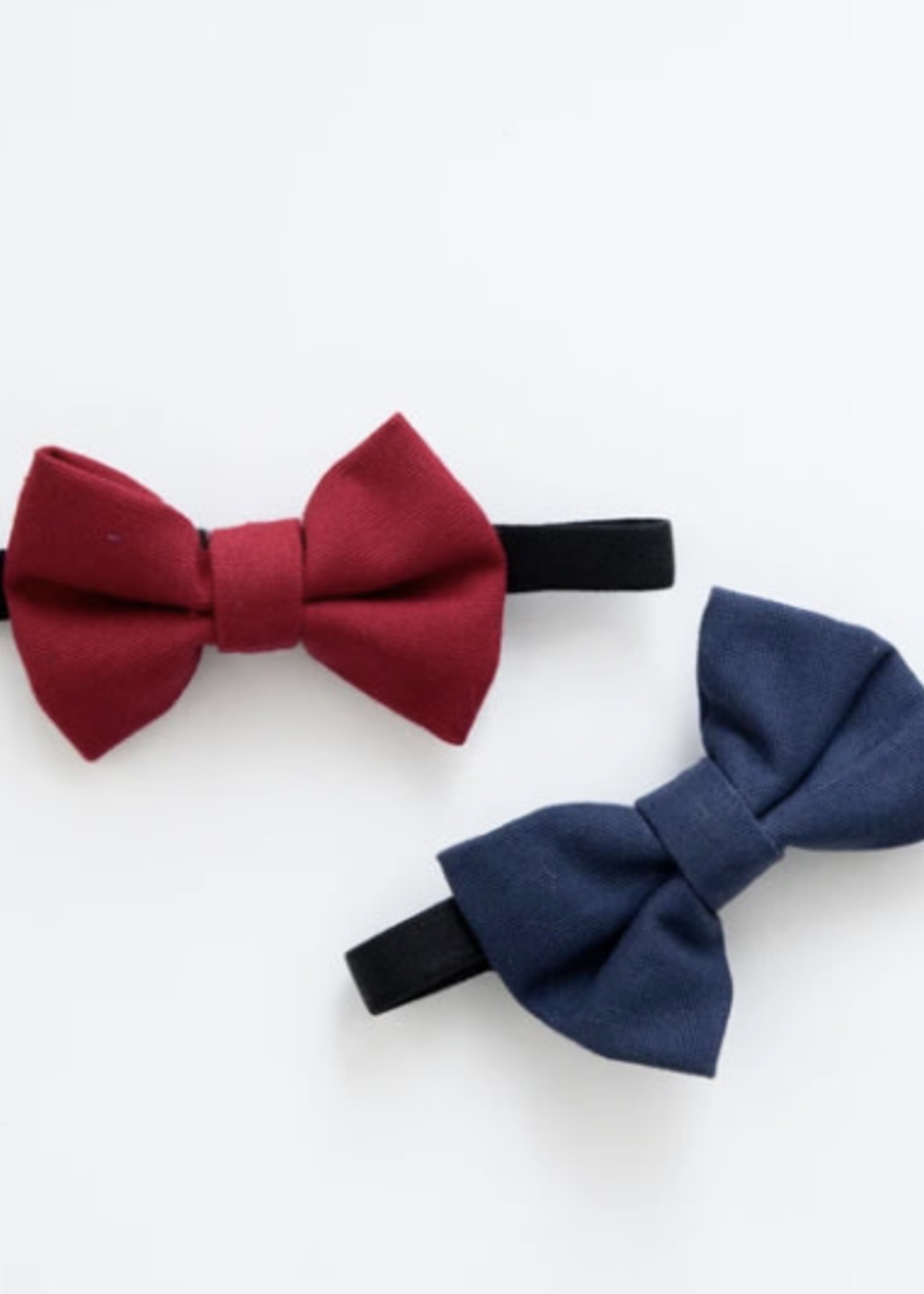 Lox Lion LL Bow Tie (Navy/Red)