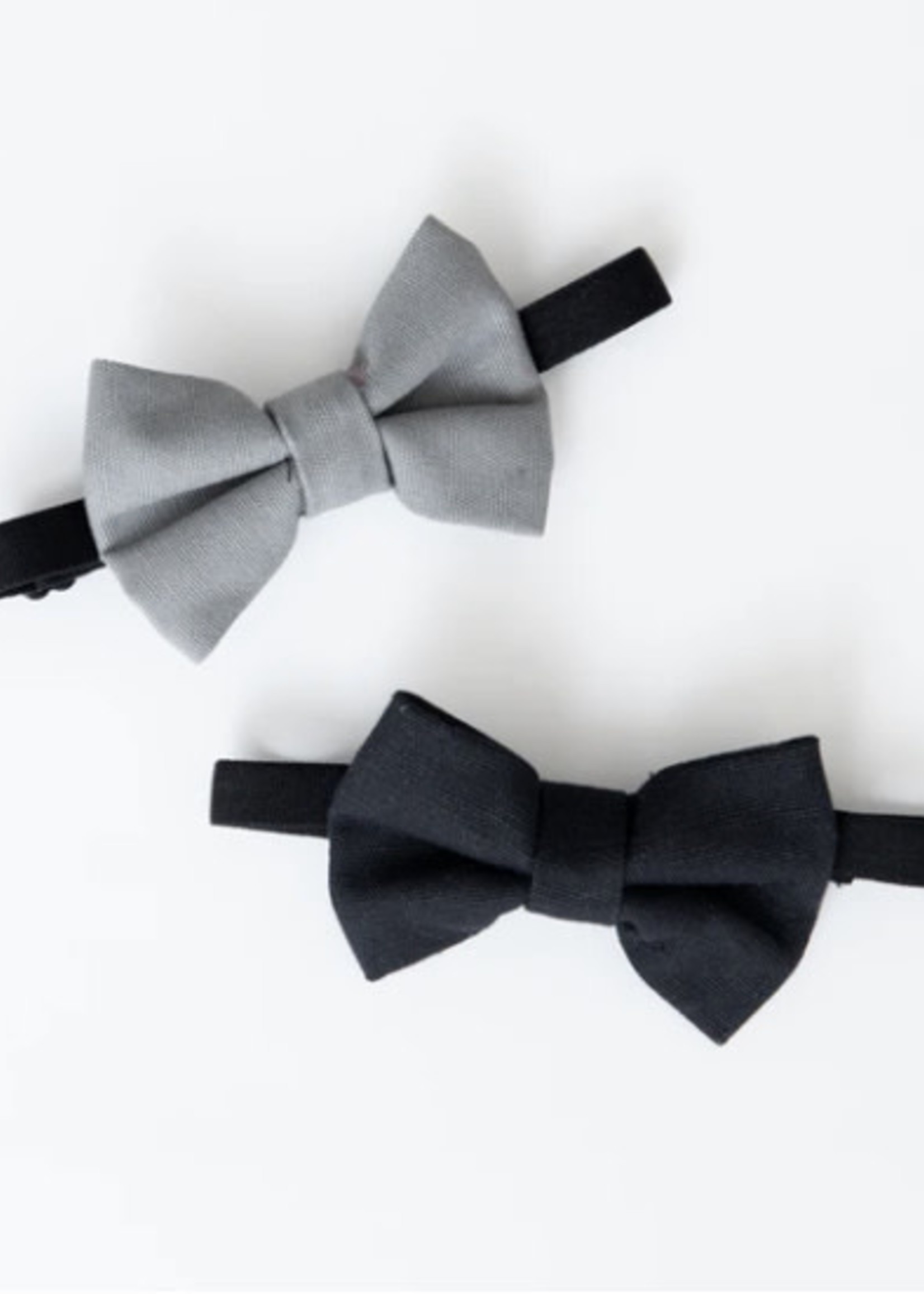 Lox Lion LL Bow Tie (Grey/Black)