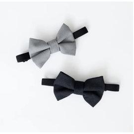 Lox Lion Lox Lion Bow Tie (Grey/Black)
