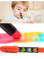 Jar Melo Silky Washable Crayons  - 6 Colors