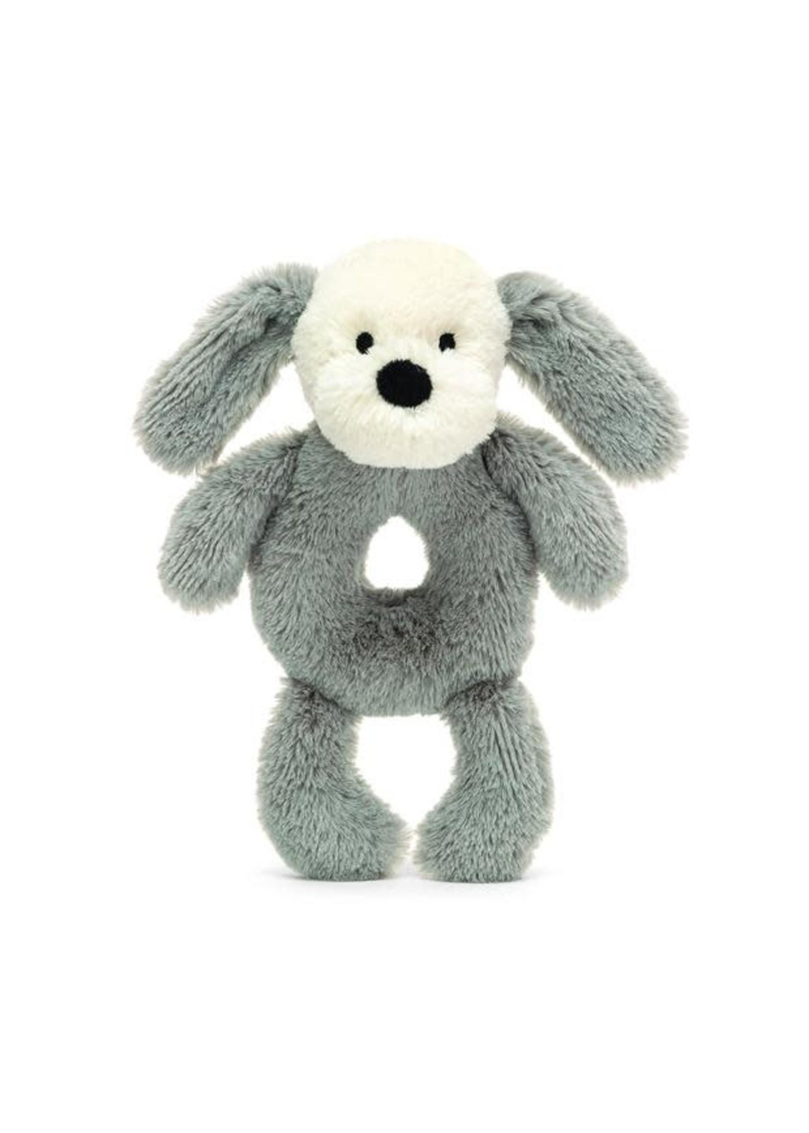 Jellycat JC Smudge Puppy Rattle