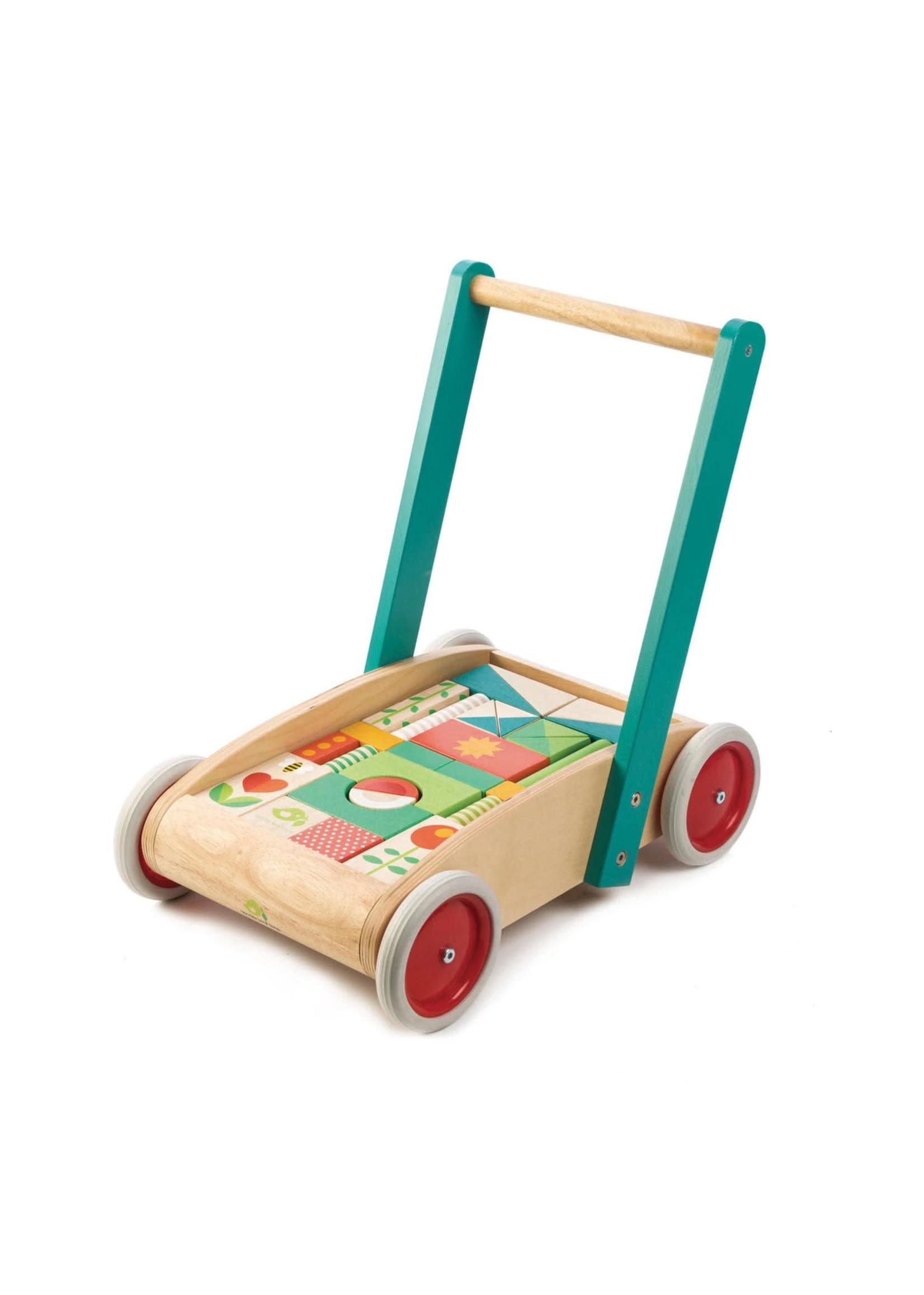 Tender Leaf Toy TLT Baby Block Walker