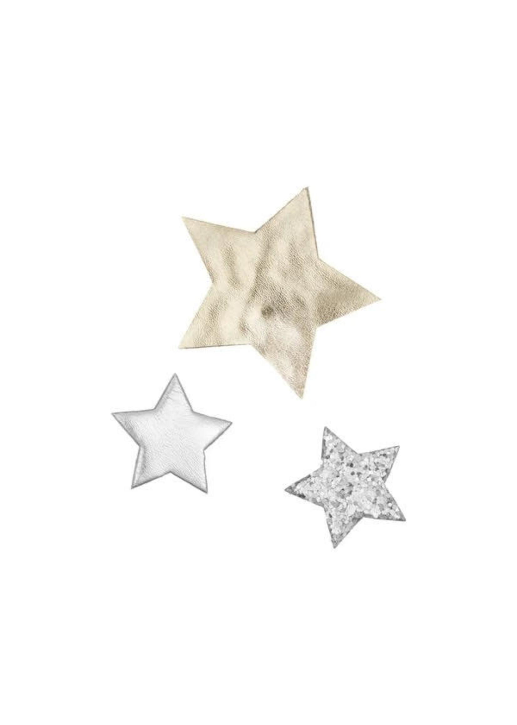 mimi&lula ML Arctic Superstar Clips (Silver)