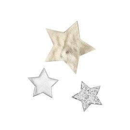 mimi&lula Mimi & Lula Arctic Superstar Clips (Silver)