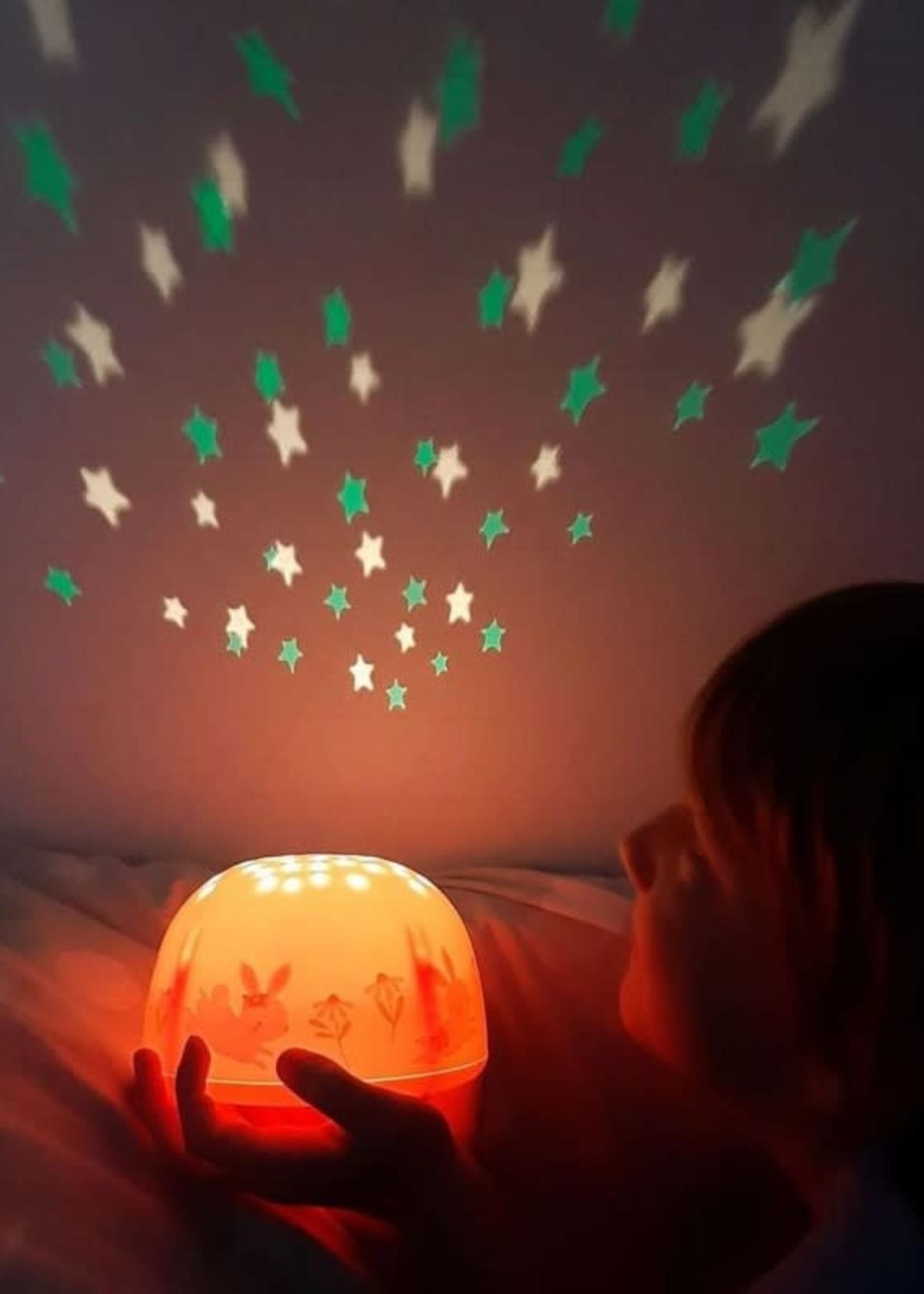 A Little Lovely Co. LLC Projector Light (Bunny)