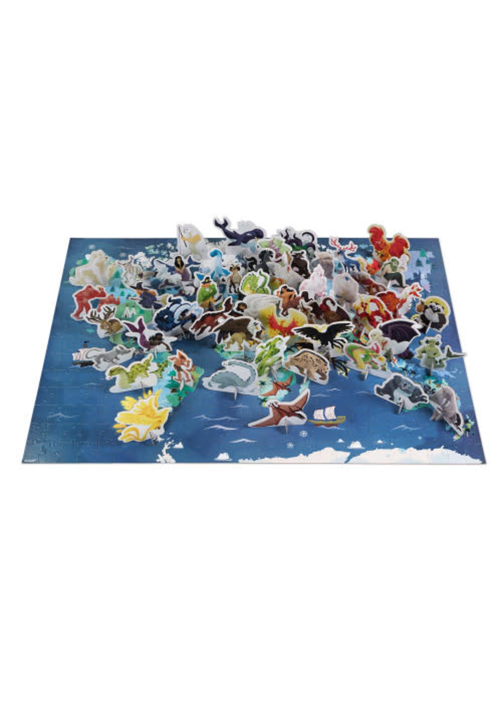 Janod Janod Puzzle Myths & Legends (350pcs)