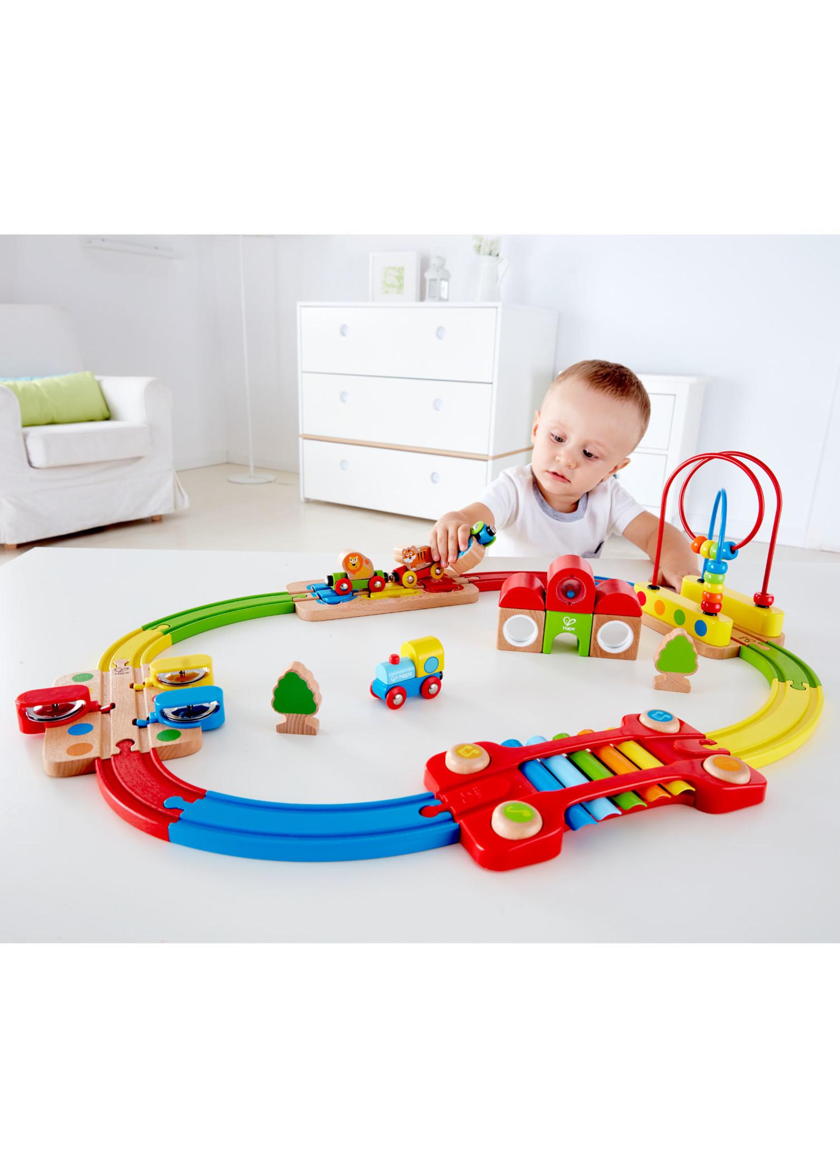 Hape Hape Rainbow Puzzle Railway