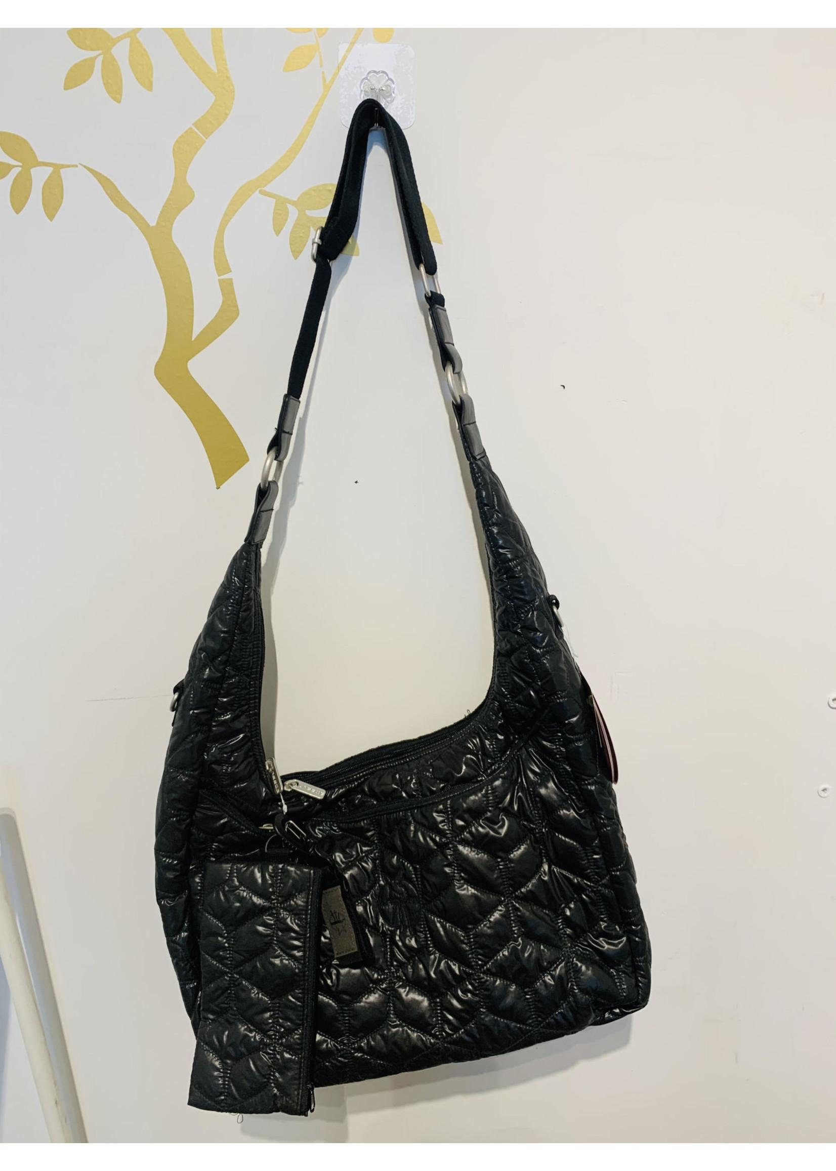 Lassig Glam Banana Diaper Bag (Black)