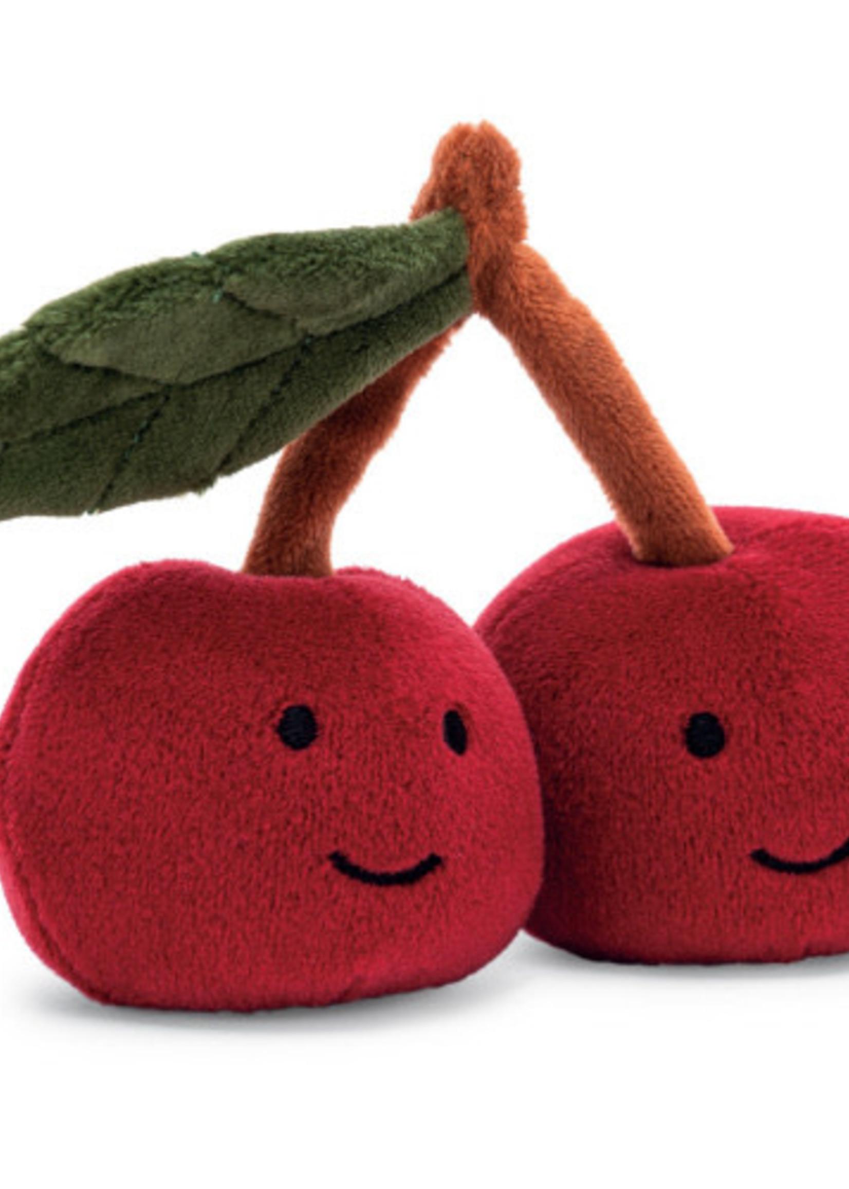 Jellycat JC Fabulous Fruit Cherry