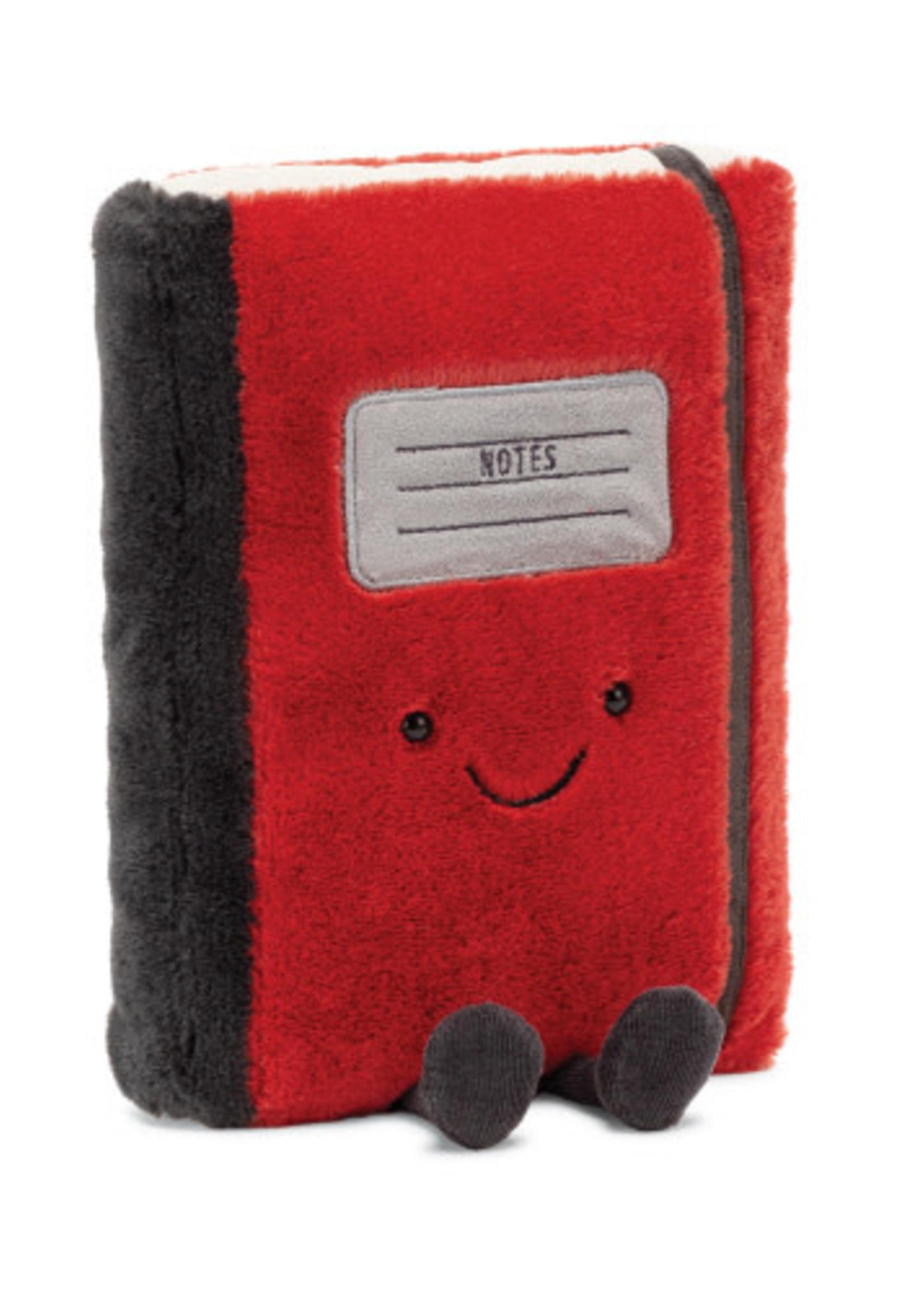 Jellycat JC Smart Stationery Notebook