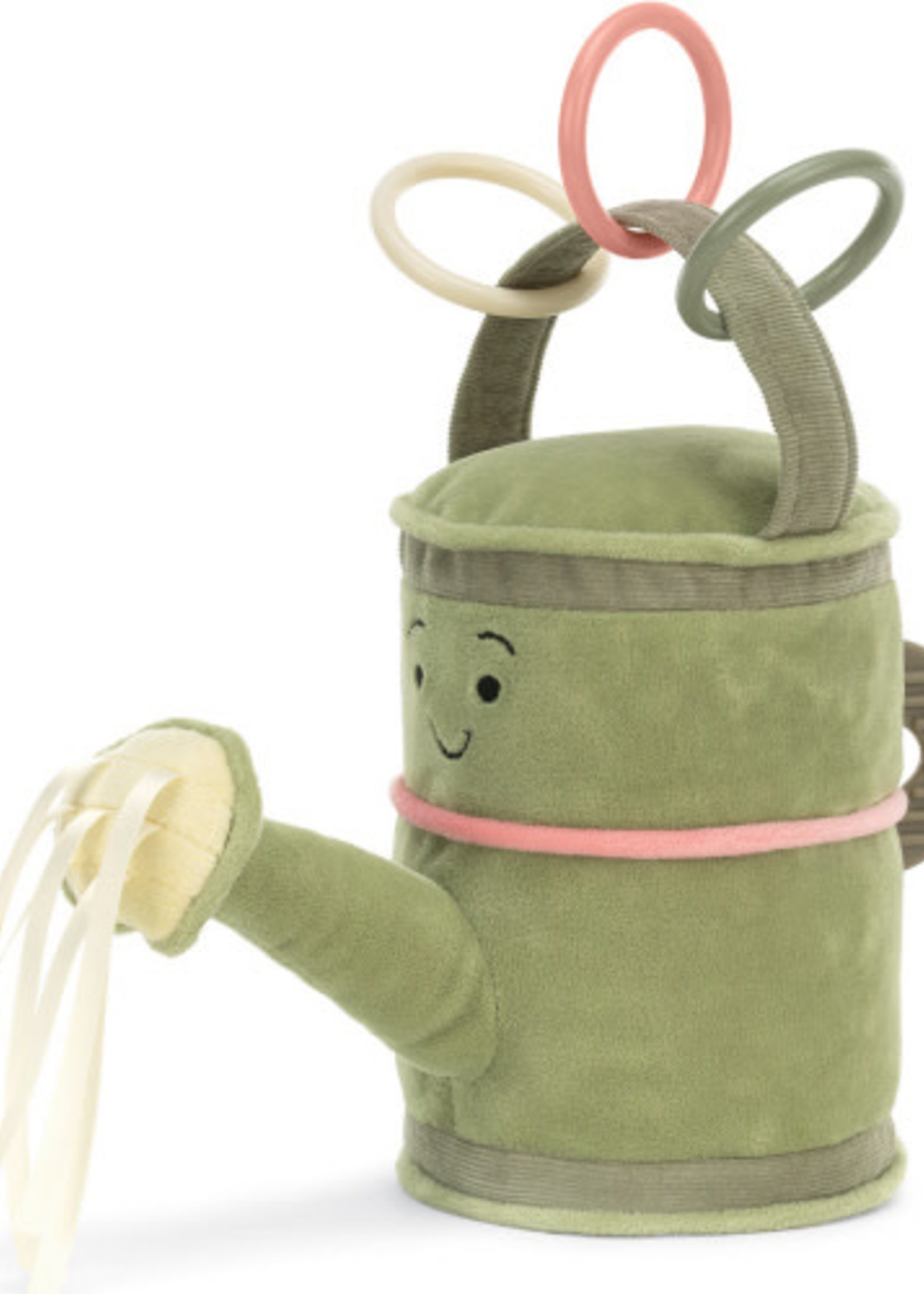 Jellycat JC Whimsy Garden Watering Can Activity Toy