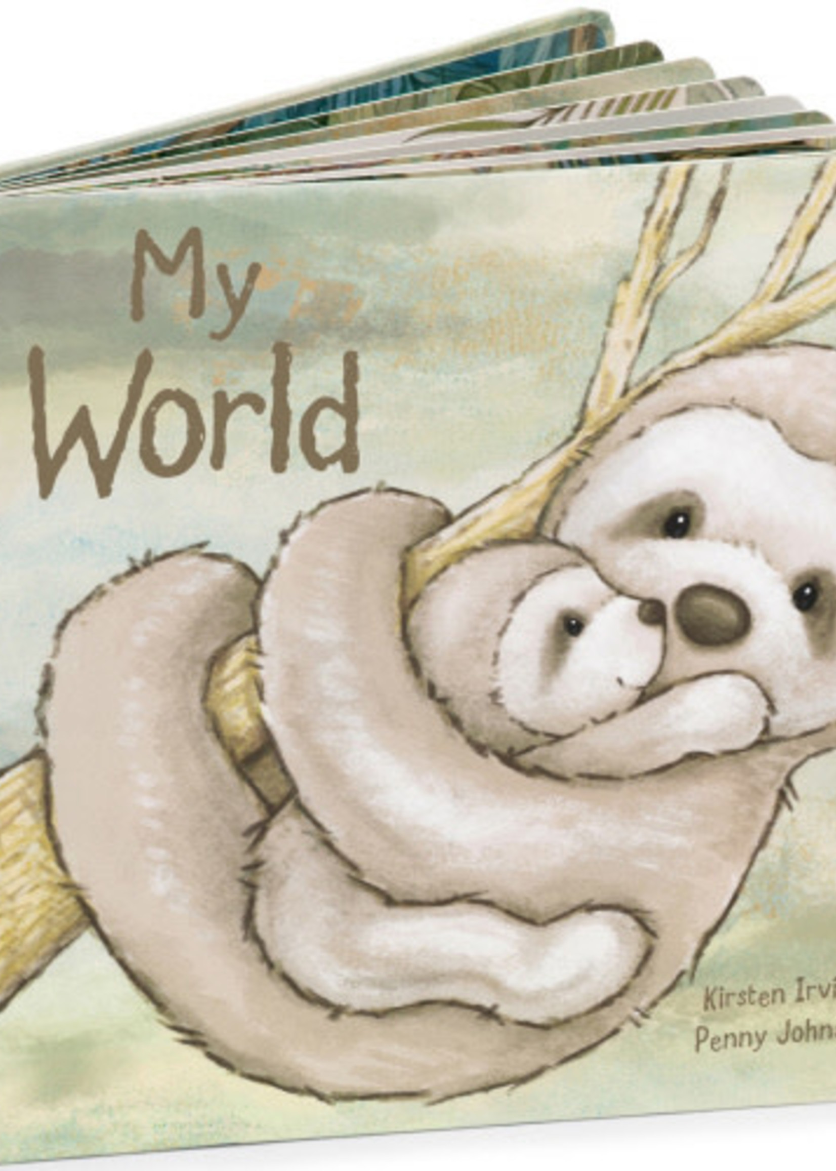 Jellycat JC My World Book