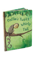 Jellycat Jellycat Mattie's Twirly Whirl Tail Book