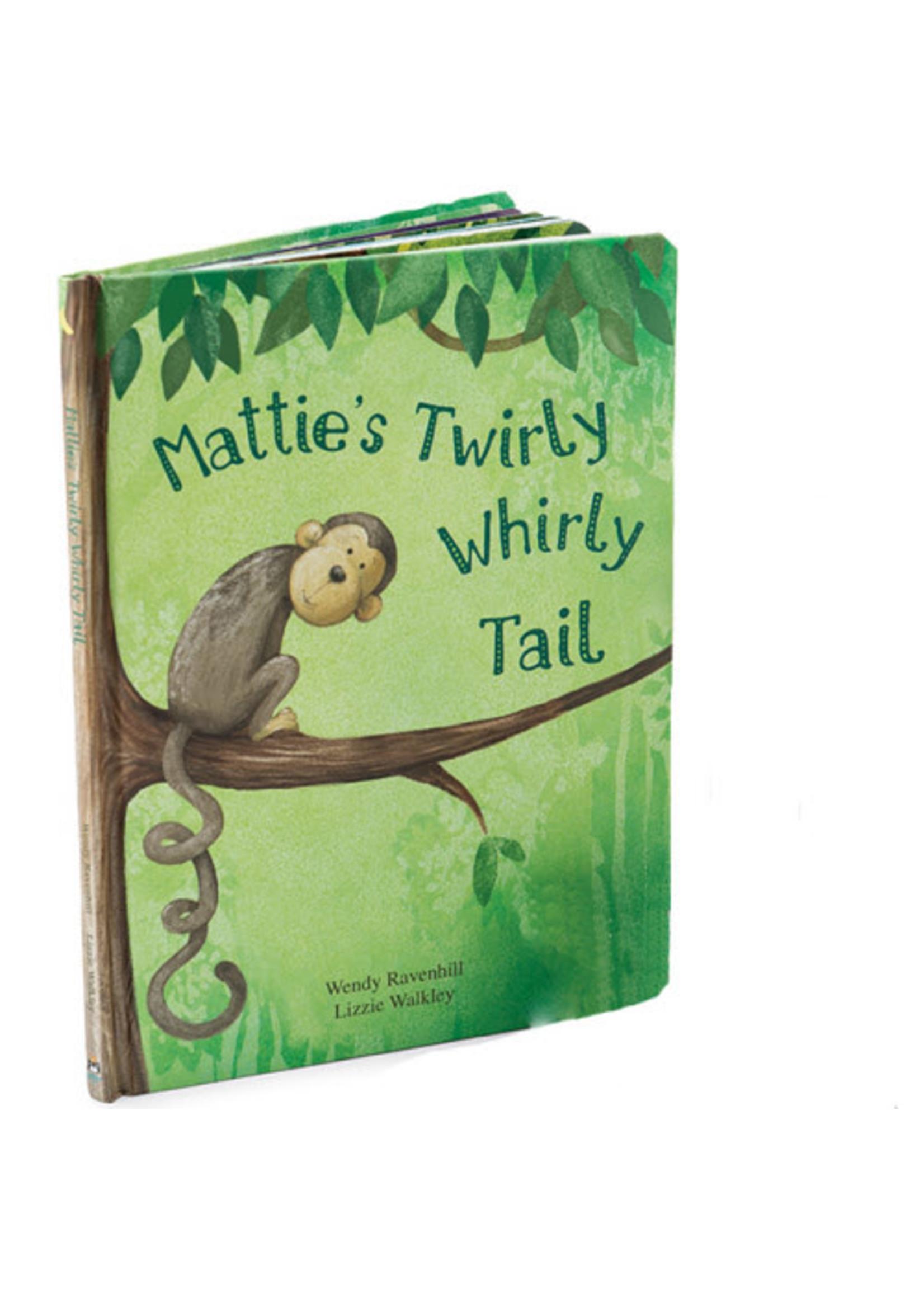 Jellycat JC Mattie's Twirly Whirl Tail Book