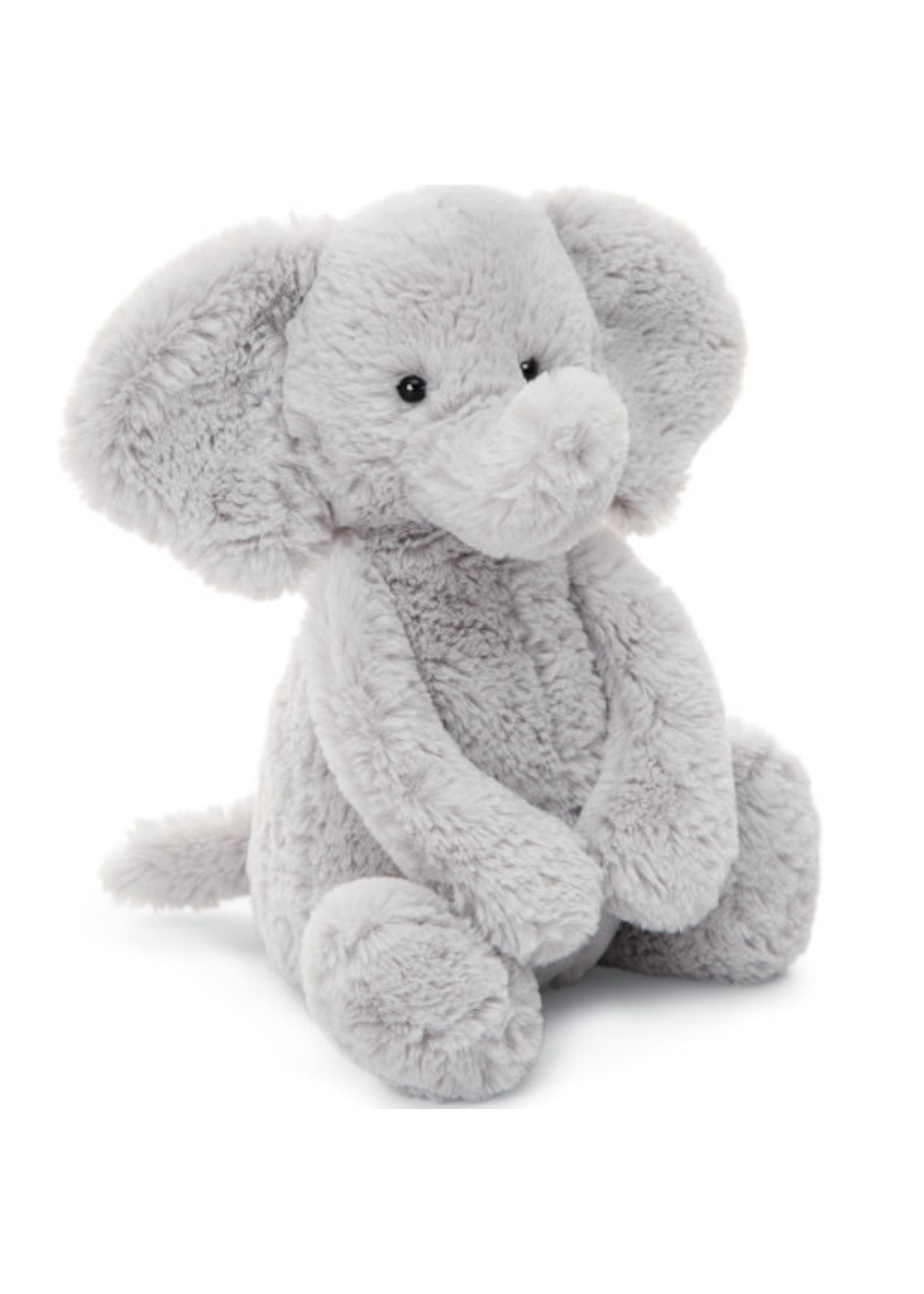 Jellycat JC Medium Bashful Silver Elephant