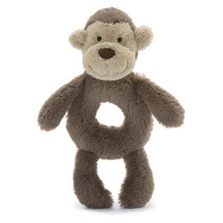 Jellycat JC Bashful Monkey Rattle