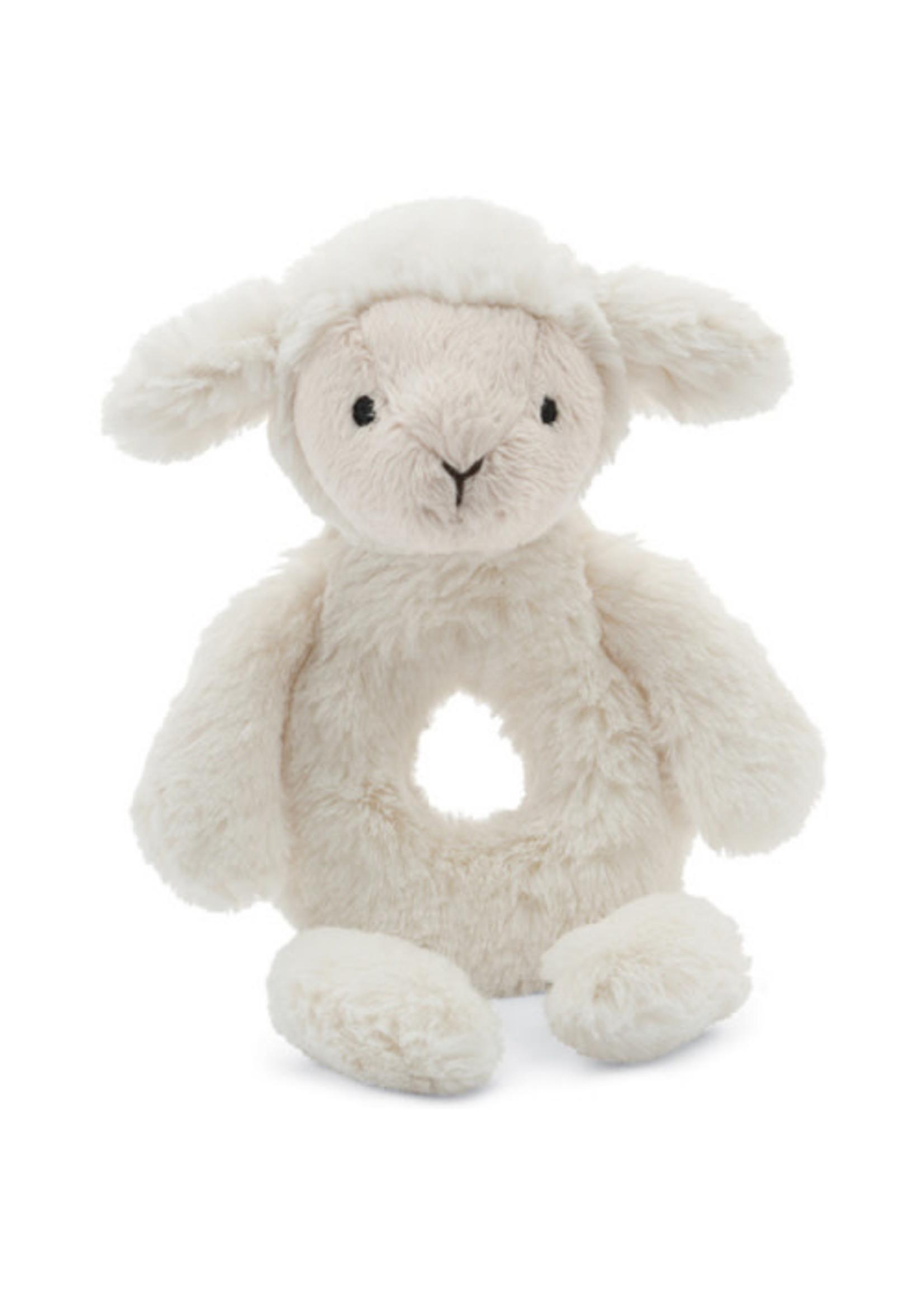 Jellycat JC Bashful Lamb Rattle