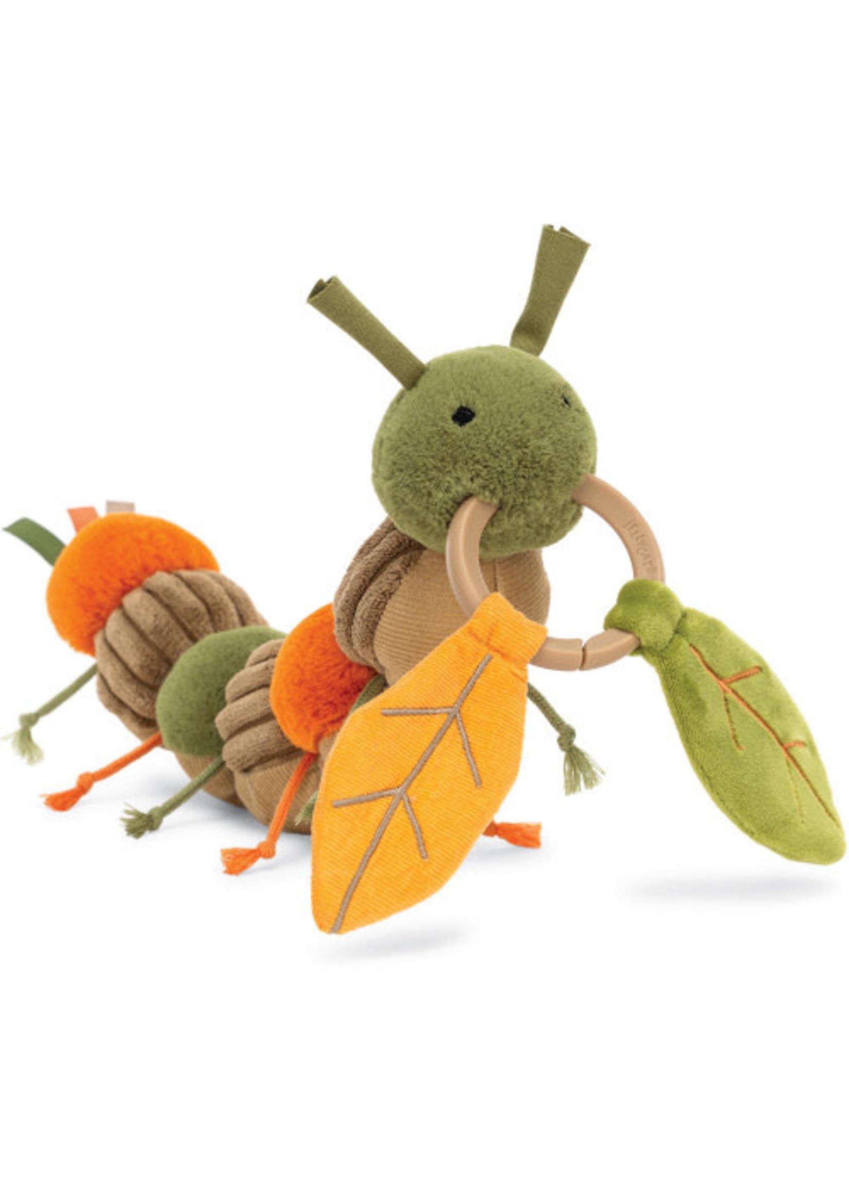 Jellycat JC Christopher Caterpillar Activity Toy