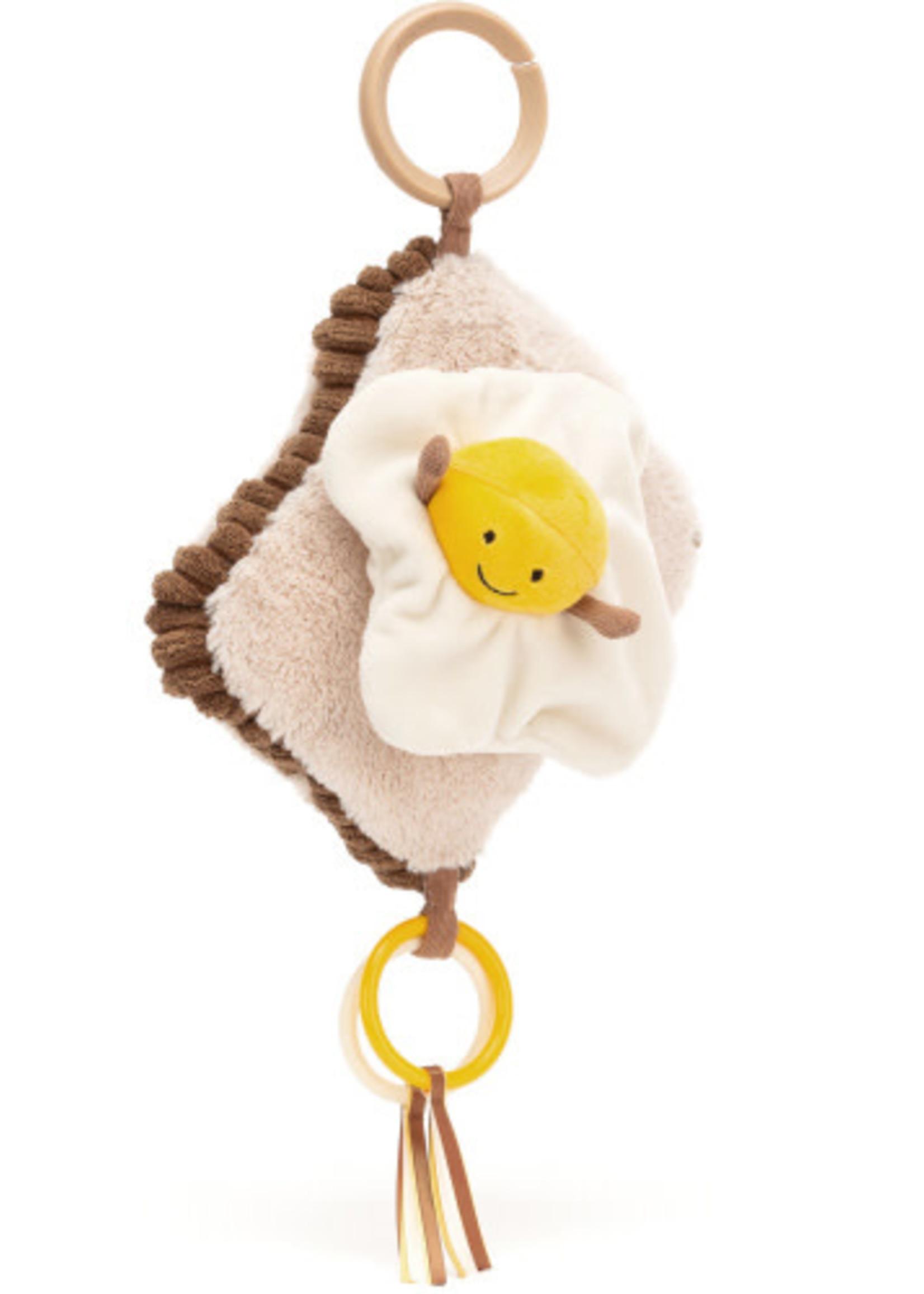 Jellycat JC Amuseable Egg On Toast Activity Toy