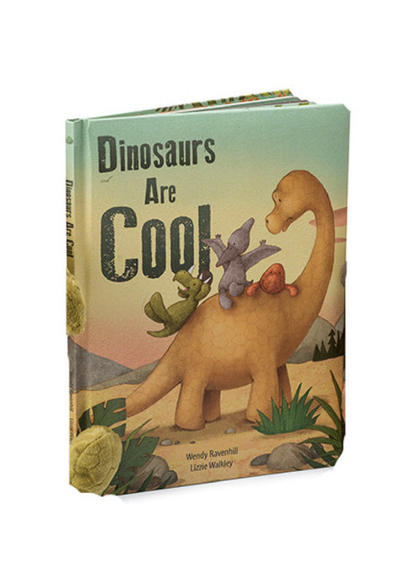 Jellycat JC Dinosaurs Are Cool Book