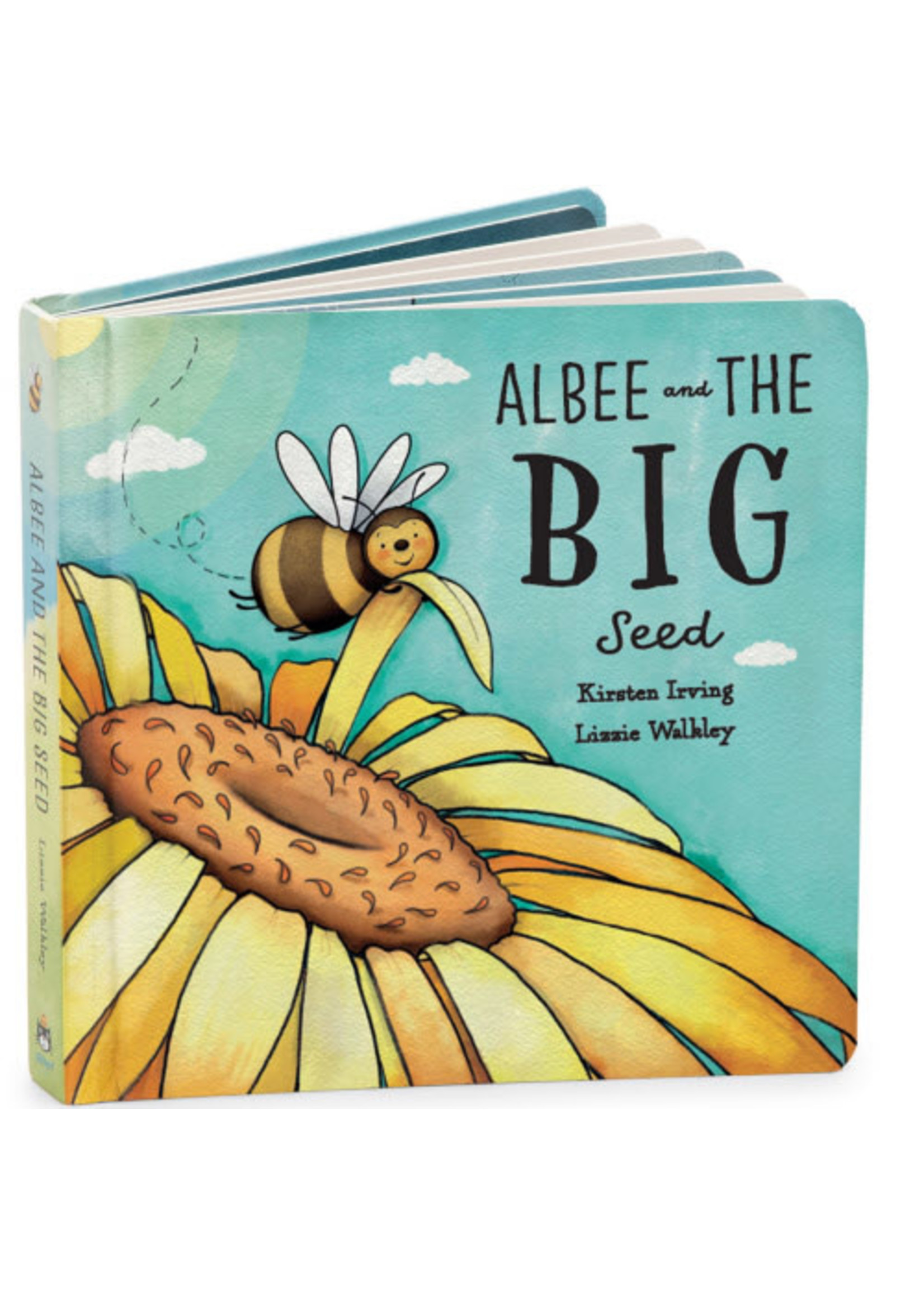 Jellycat JC Albee & The Big Seed Book