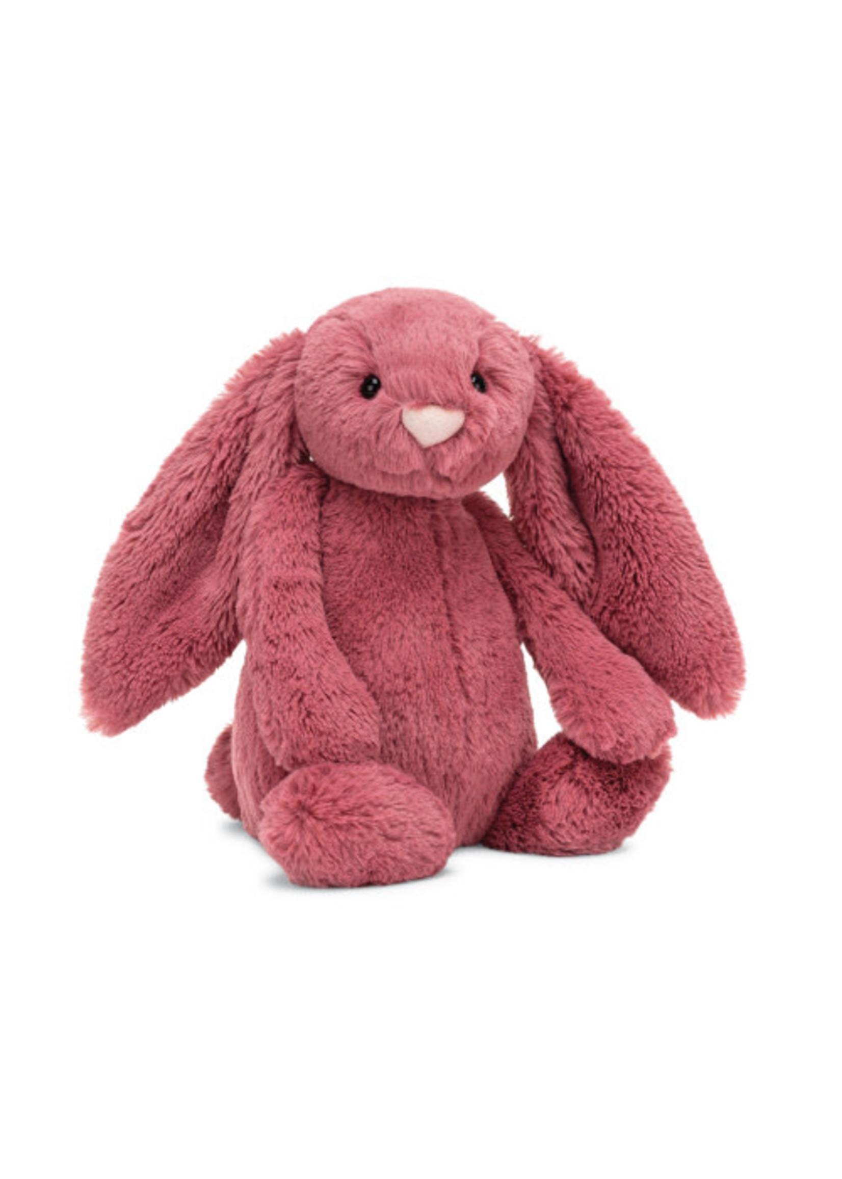 Jellycat JC Medium Bashful Dusty Pink Bunny