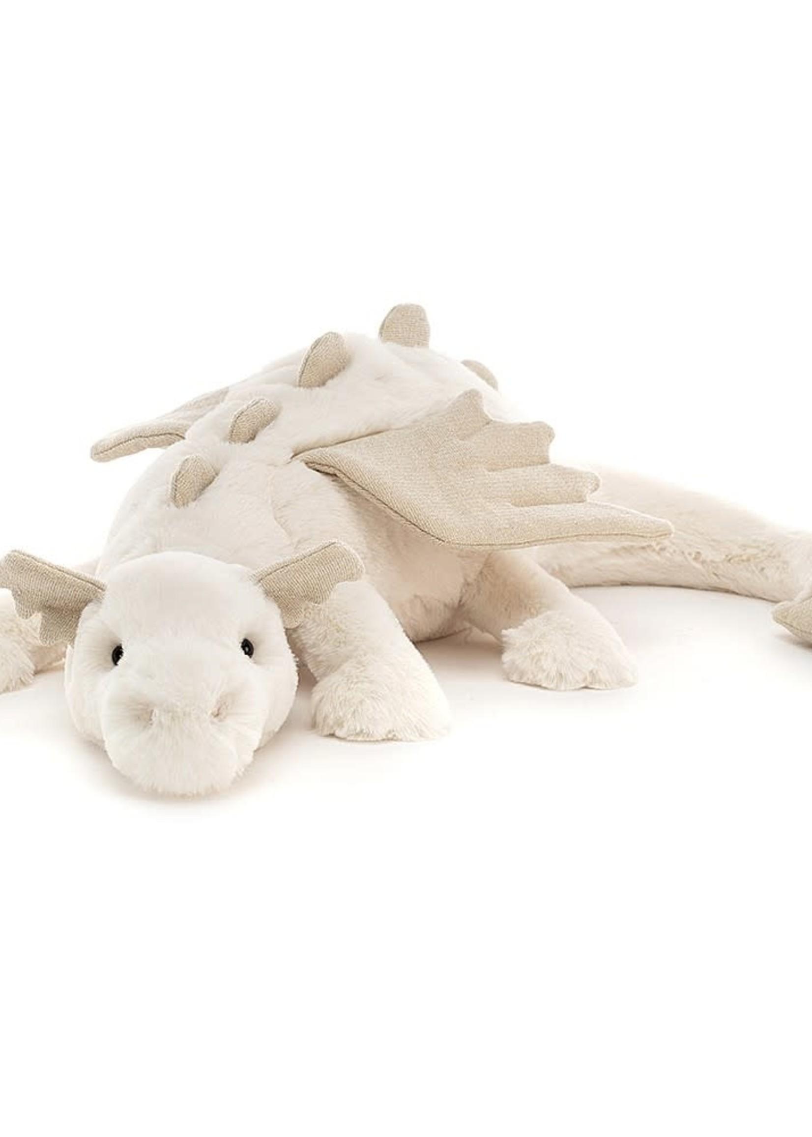 Jellycat JC Medium Snow Dragon