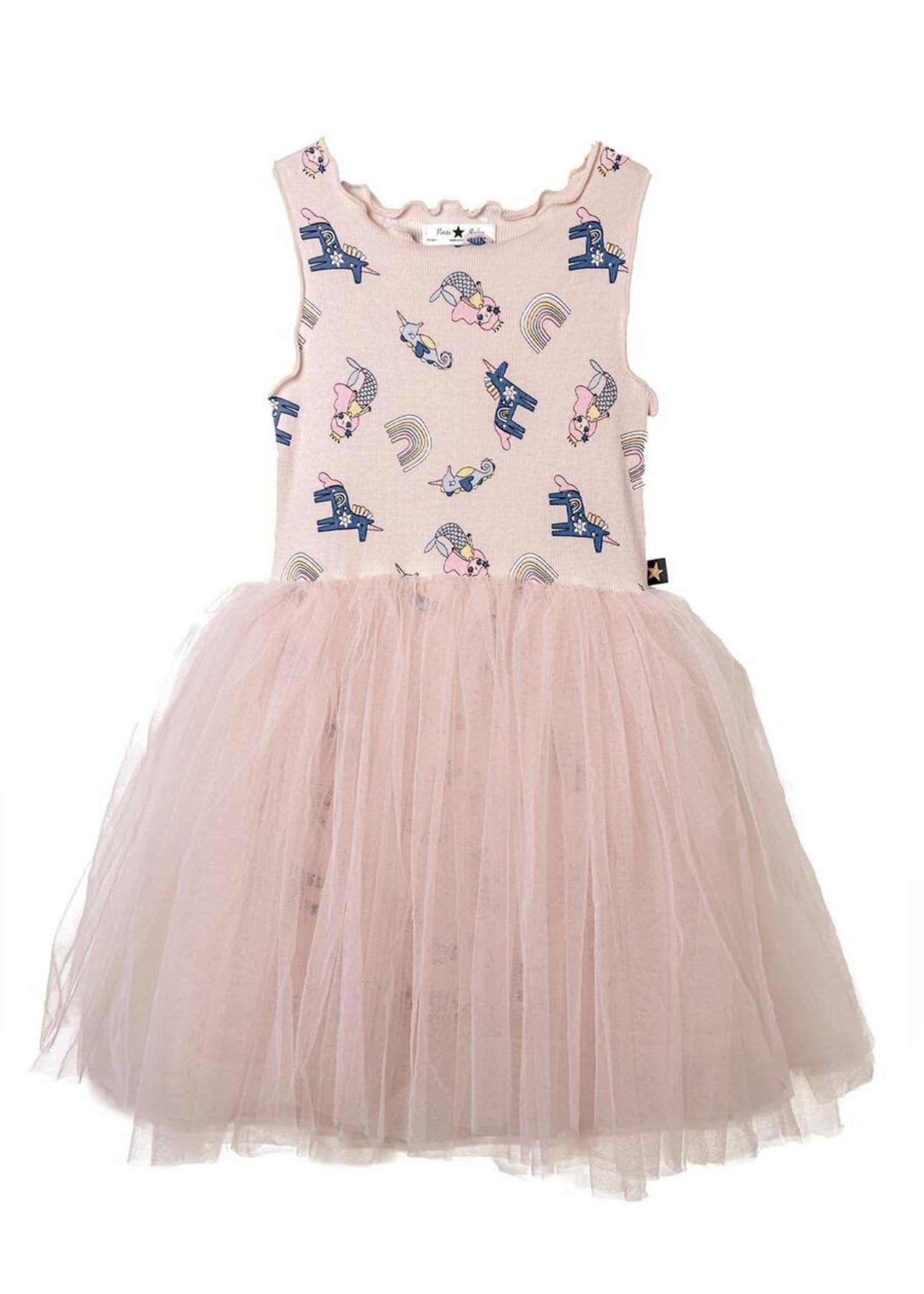 Petite Hailey Petite Hailey Multi Mermaid Tutu Dress