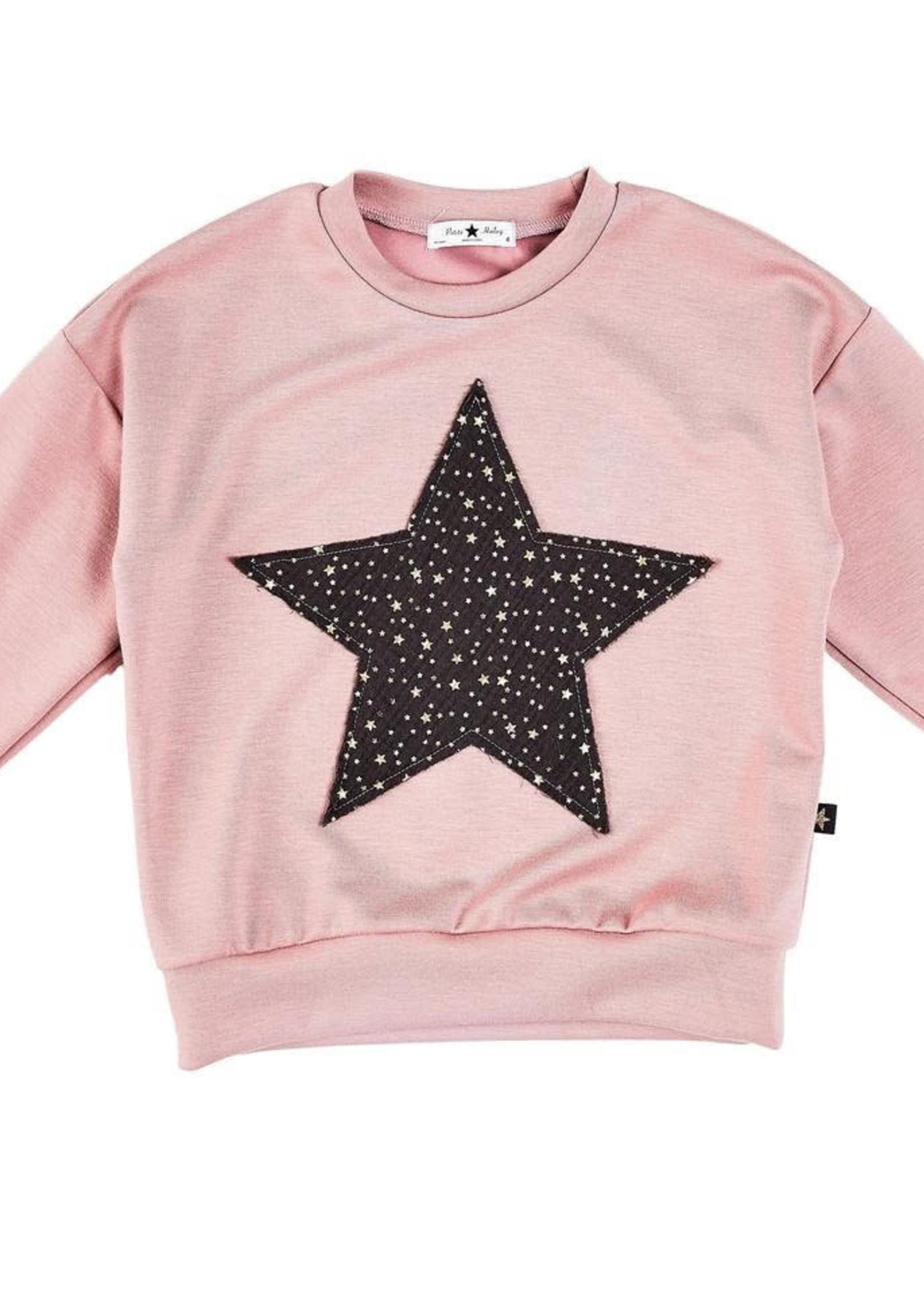 Petite Hailey PH Star Sweater (Pink)