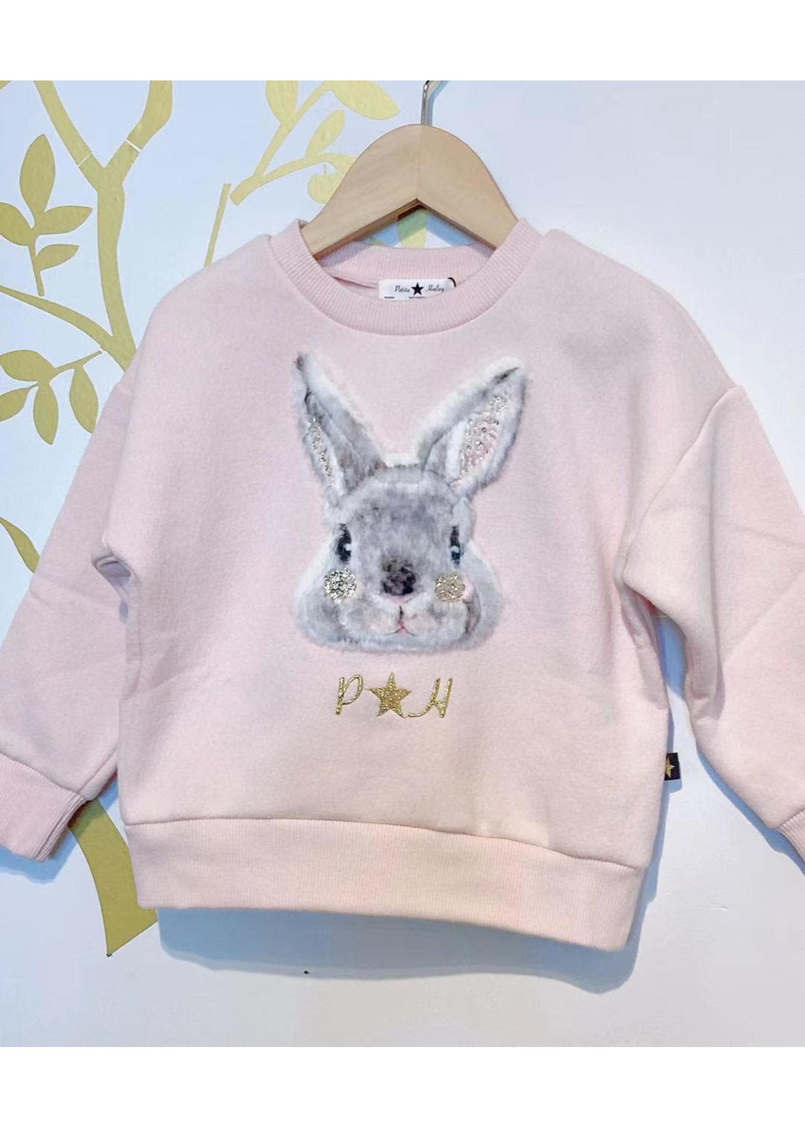 Petite Hailey PH Rabbit Sweater (Pink)