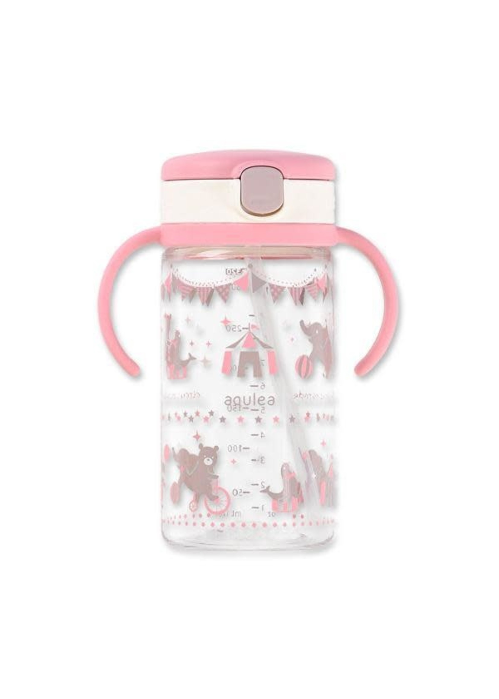 Richell Richell 320ml Bottle (Pink)