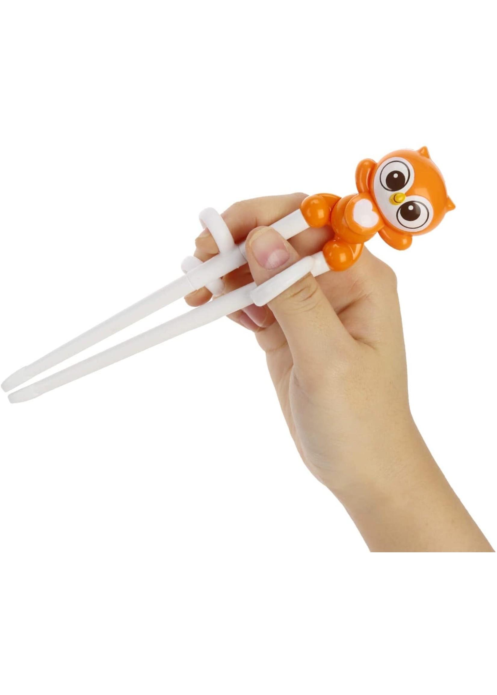Edison Friends Edison Right-Handed Chopsticks (Owl)