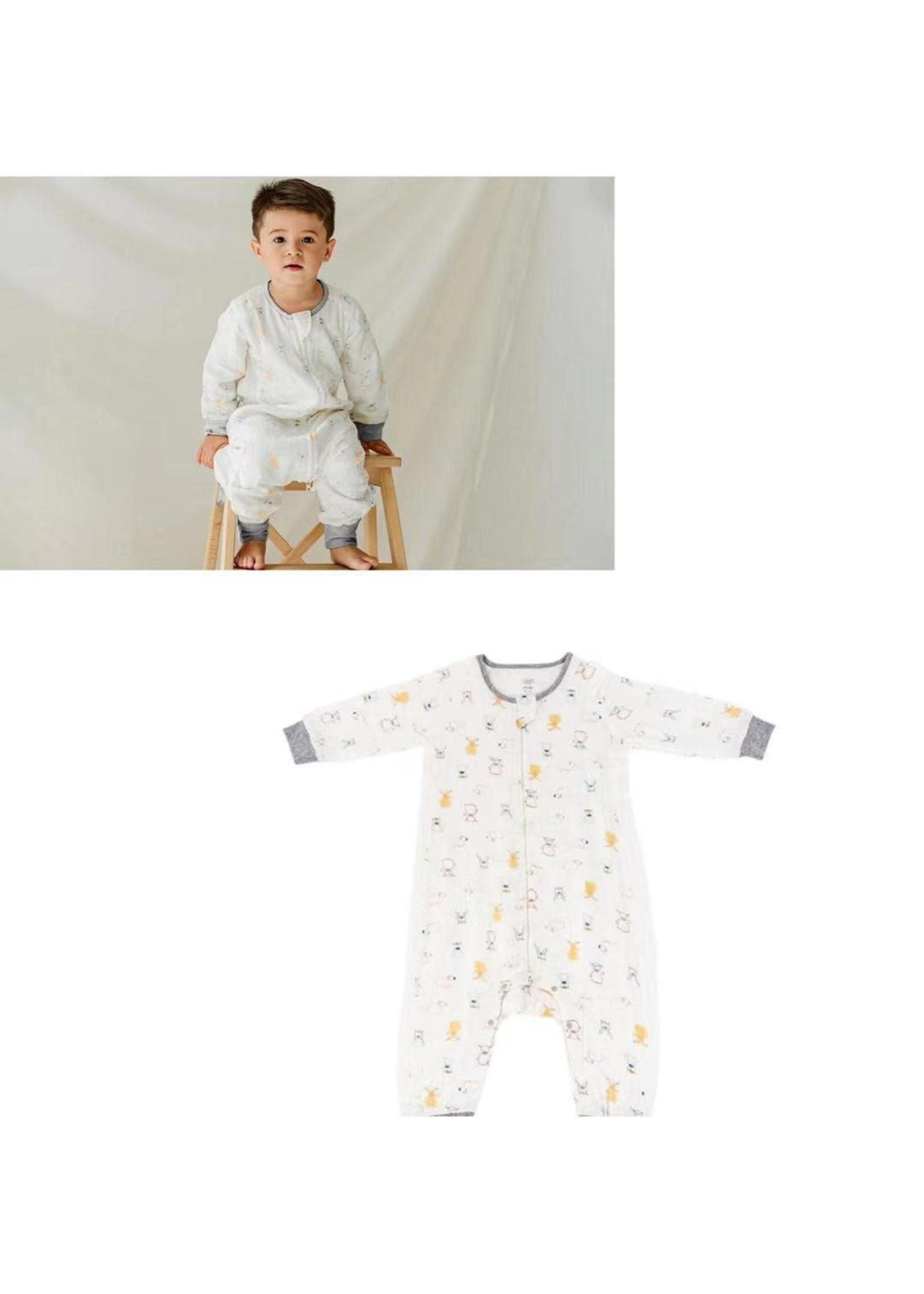 Nest Designs ND 0.6 Longsleeve Sleepsuit (Ox-Standing)