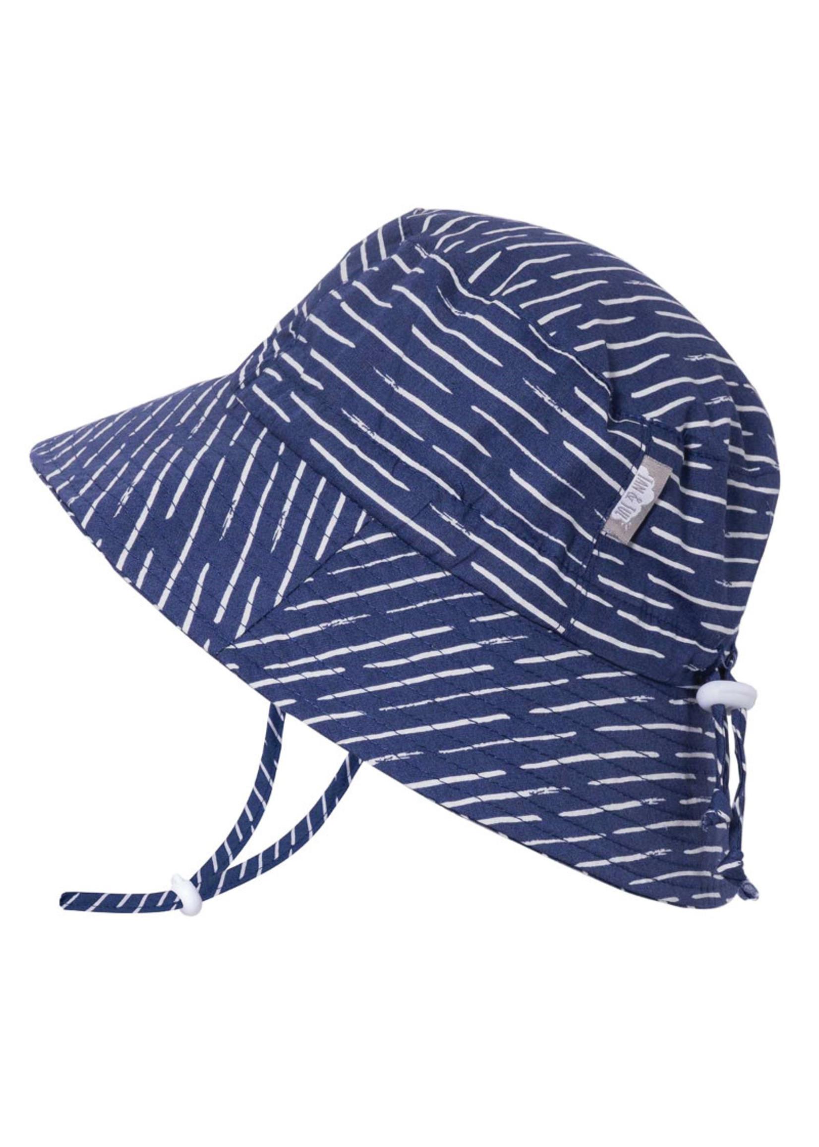 jan & jul Jan & Jul Hat (Navy Waves)