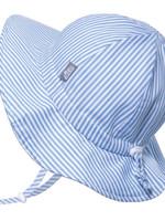 jan & jul Jan & Jul Cotton Floppy Hat (Blue Stripes)