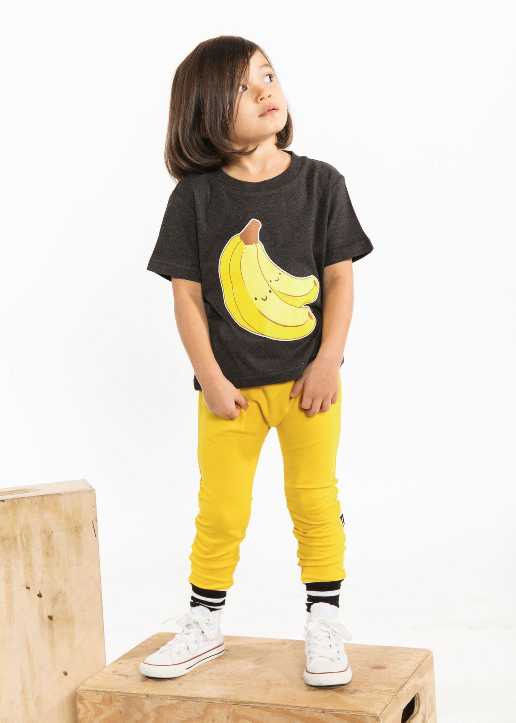 Whistle & Flute W&F Bamboo  Jogger Mustard