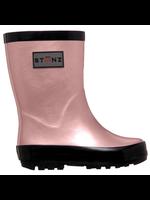 Stonz Rain Boots (Metallic Haze Pink)