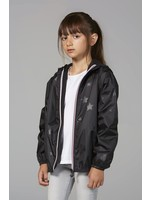 O8 O8 Kids  Zip  Jacket (Black Gloss Star)