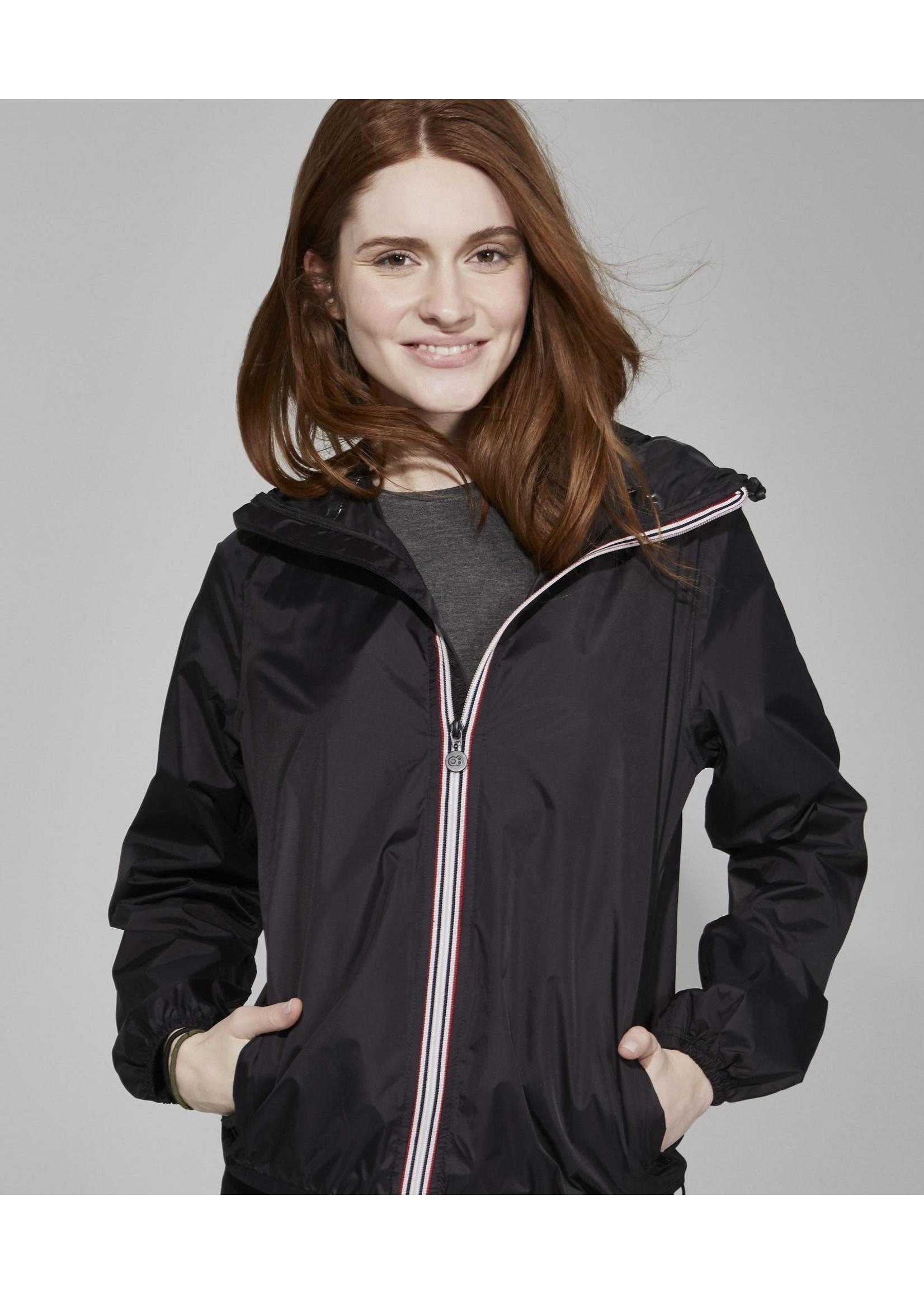 O8 O8 Woman Zip Jacket Black